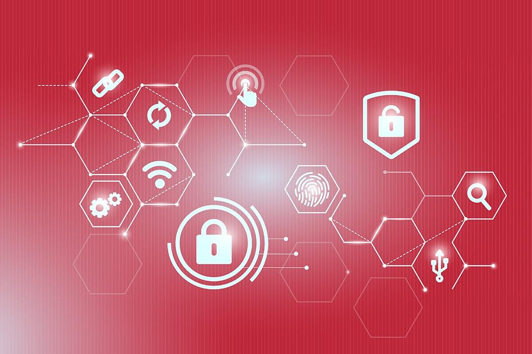 Cibersegurança, uma rede de coneções tecnológicas.