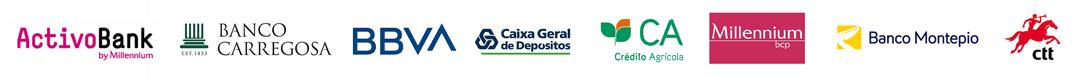 Activo Bank, Banco Carregosa, BBVA, Caixa Geral de Depositos, CGD, Crédito Agrícola, Millenium BCP, Banco Montepio, CTT, Phishing